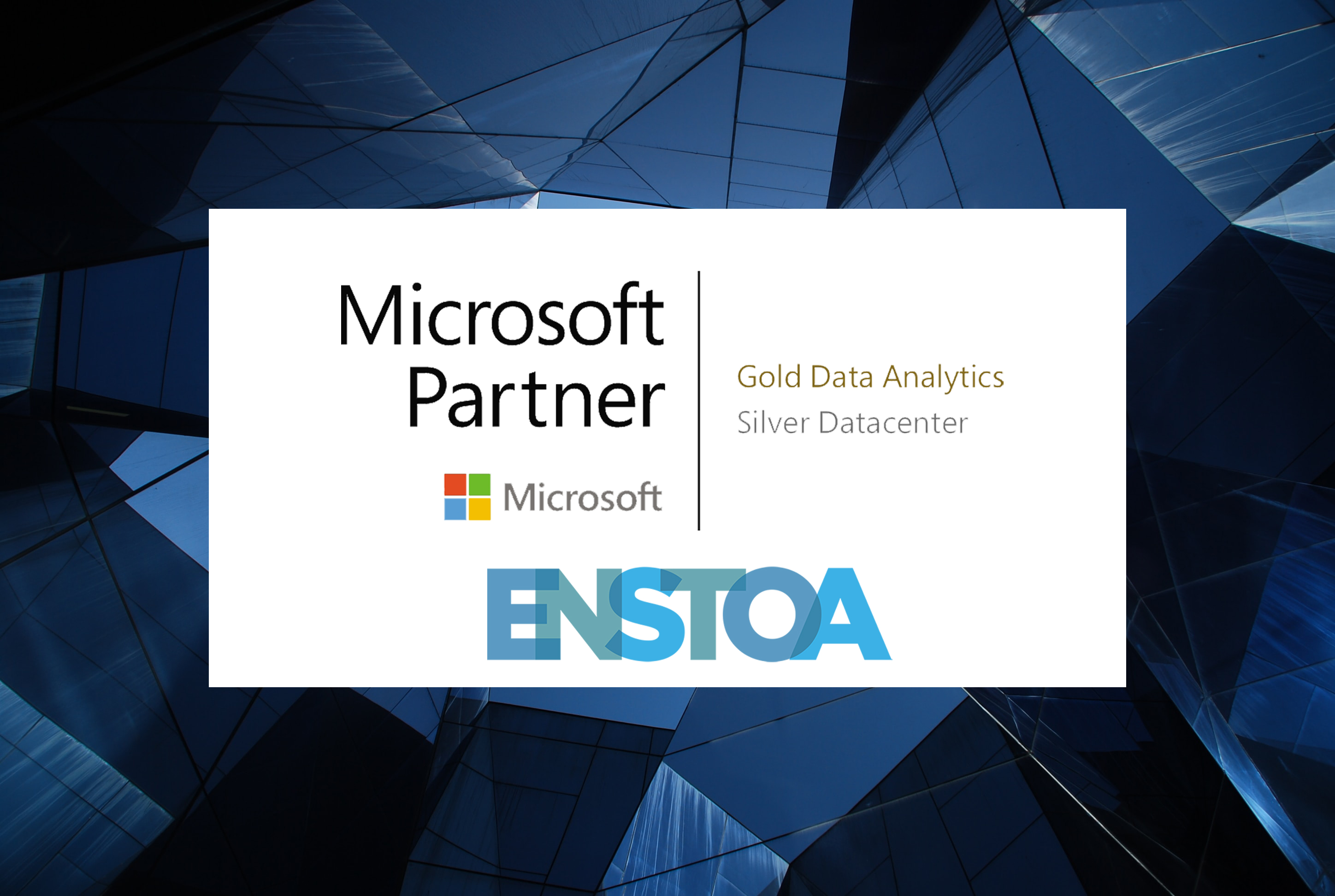 Enstoa Becomes a Microsoft Gold-Certified Partner