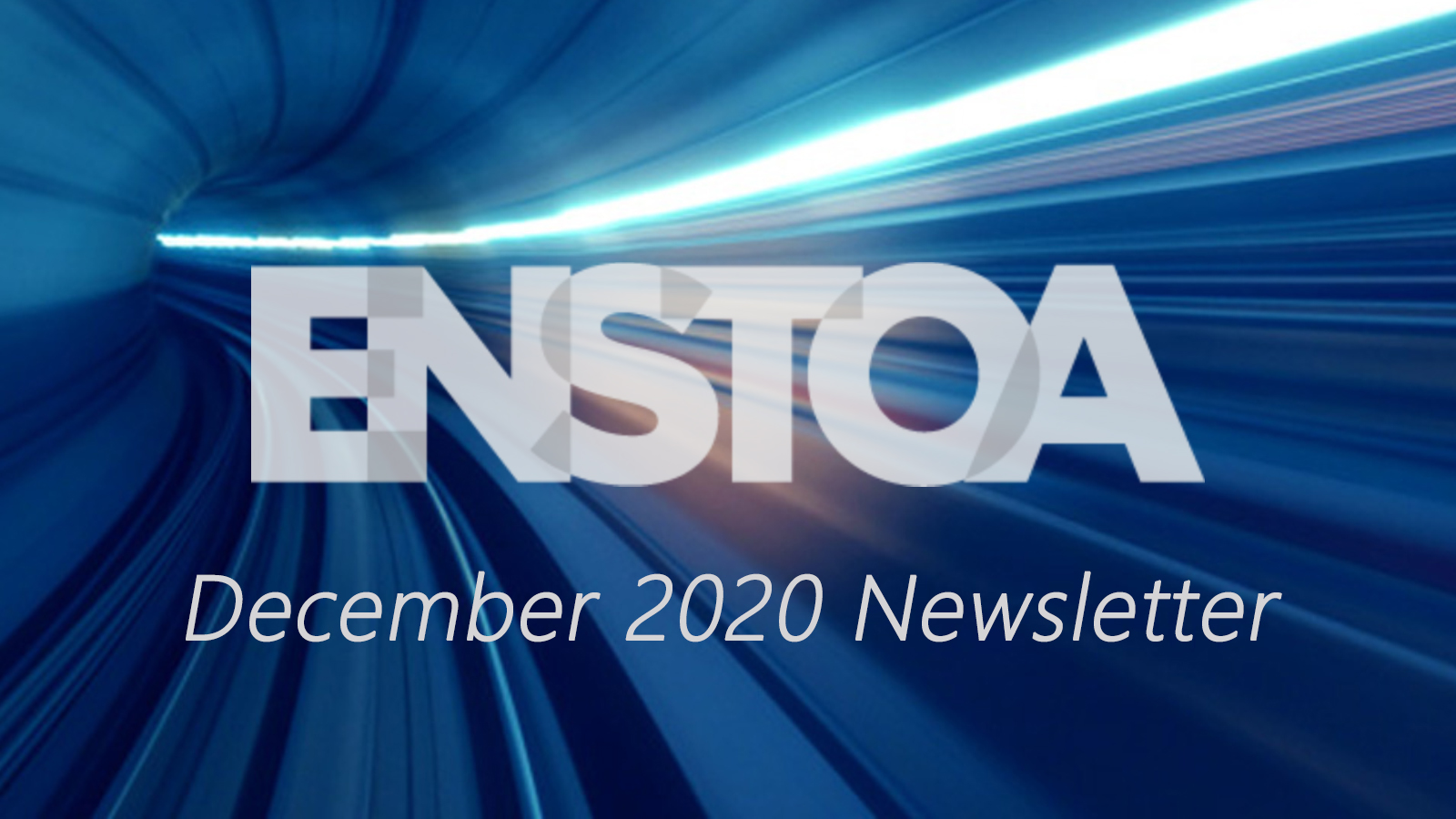 December 2020 Newsletter: 2021, we're waiting for you with open arms