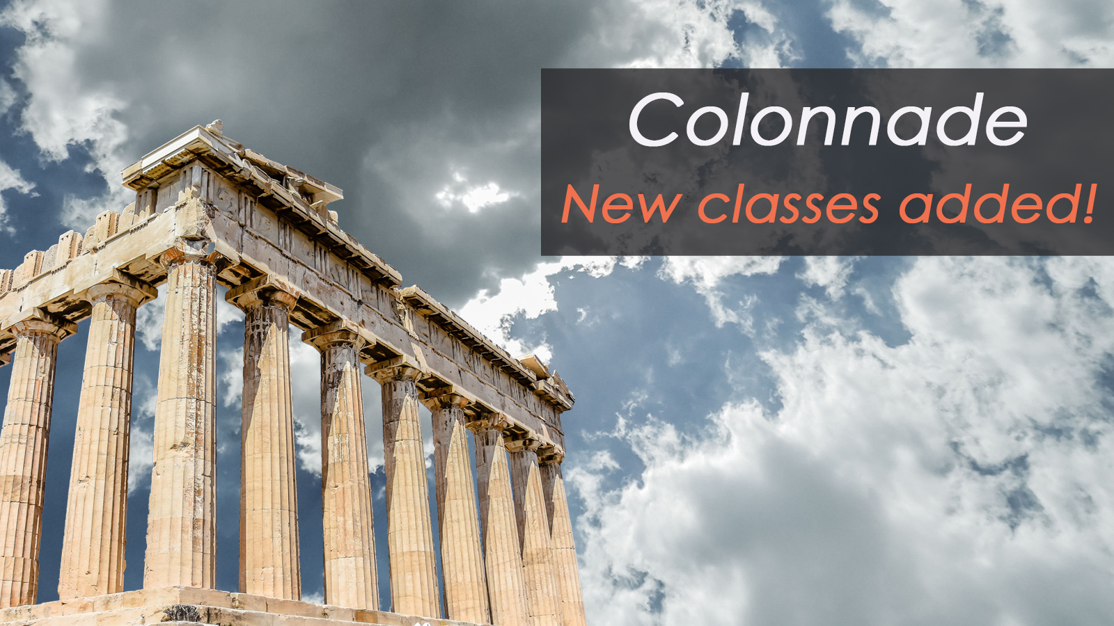 Enstoa Adds Two New Colonnade Courses: Agile for Leaders and Cost Management Principles for Capital Projects